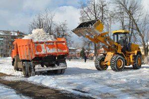 Снегоуборочные работы Нижний Тагил